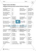 Fragen rund um Zähne: Übungen (Multiple Choice) Preview 1