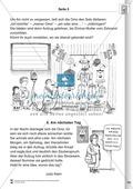 Sprachförderung: Der zauberhafte Aufzug: Lesetext, Hinweise zum Erzählen und Schreiben und Arbeitsblätter Preview 5