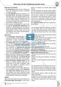 Sprachförderung: Der Zirkusbesuch: Lesetext, Hinweise zum Erzählen und Schreiben und Arbeitsblätter Preview 7