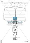 Sprachförderung: Die Dingsda: Lesetext, Hinweise zum Erzählen und Schreiben und Arbeitsblätter Preview 10