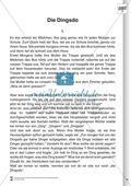 Sprachförderung: Die Dingsda: Lesetext, Hinweise zum Erzählen und Schreiben und Arbeitsblätter Preview 1