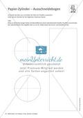 Mathematik, Geometrie, Raum & Form, Körperberechnung, Zylinder