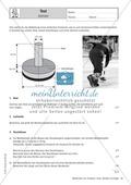 Mathematik, Raum & Form, Körperberechnung, Zylinder, schrägbild, oberfläche, Volumen
