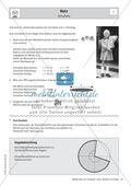 Mathematik, Geometrie, Raum & Form, Körperberechnung, Kegel, Netzbild