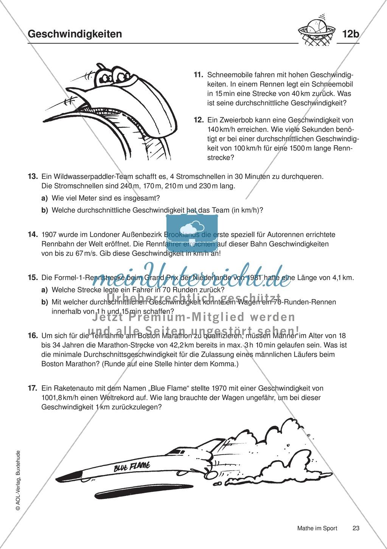 Niedlich Mathe Geschwindigkeitstest Arbeitsblatt Fotos - Mathe ...