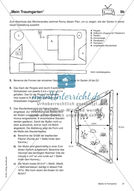 Contemporary Volumen 3D Formen Arbeitsblatt Frieze - Mathe ...