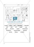 Bildergeschichten im DU - Der neue Hut: Arbeitsblätter Preview 3
