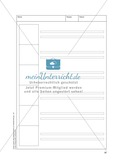 Bildergeschichten im DU - Eine gute Idee: Arbeitsblätter Preview 4