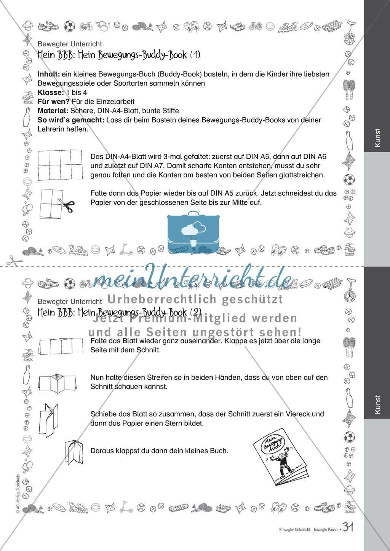 Übungen und Spiele für eine bewegte Grundschule: Material komplett Preview 26