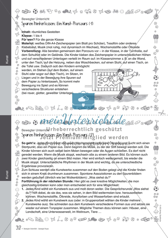 Übungen und Spiele für eine bewegte Grundschule: Material komplett Preview 27
