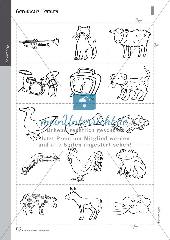 Übungen und Spiele für eine bewegte Grundschule: Material komplett Preview 47