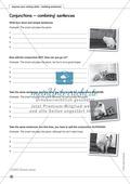 improve your writing skills - building sentences: Arbeitsblätter und L?sungen Preview 2