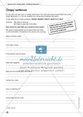 improve your writing skills - building sentences: Arbeitsblätter und L?sungen Preview 4