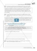 Sprachförderung: Bericht über ein Erlebnis im Schullandheim: qualifizierendes Niveau: Hinweise zum Ablauf, Arbeitsblätter Preview 4