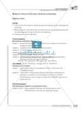 Sprachförderung: Bericht über ein Erlebnis im Schullandheim: grundlegendes Niveau: Hinweise zum Ablauf, Arbeitsblätter Preview 1