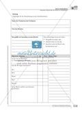 Sprachförderung: Bericht über ein Erlebnis im Schullandheim: grundlegendes Niveau: Hinweise zum Ablauf, Arbeitsblätter Preview 3