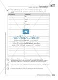 Sprachförderung: Bericht über ein Erlebnis im Schullandheim: grundlegendes Niveau: Hinweise zum Ablauf, Arbeitsblätter Preview 7