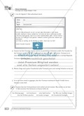 Sprachförderung: E-Mail: qualifizierendes Niveau: Hinweise zum Ablauf, Arbeitsblätter Preview 2