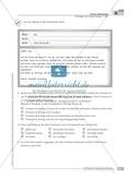 Sprachförderung: E-Mail: grundlegendes Niveau: Hinweise zum Ablauf, Arbeitsblätter Preview 3