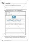 Sprachförderung: E-Mail: grundlegendes Niveau: Hinweise zum Ablauf, Arbeitsblätter Preview 6