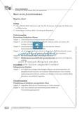 Schreibförderung: Brief an die Jugendherberge: qualifizierendes Niveau: Hinweise zum Ablauf,  Arbeitsblätter Preview 1