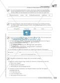Schreibförderung: Brief an die Jugendherberge: qualifizierendes Niveau: Hinweise zum Ablauf,  Arbeitsblätter Preview 2