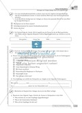 Schreibförderung: Brief an die Jugendherberge: grundlegendes Niveau: Hinweise zum Ablauf,  Arbeitsblätter Preview 3