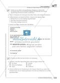 Schreibförderung: Brief an die Jugendherberge: grundlegendes Niveau: Hinweise zum Ablauf,  Arbeitsblätter Preview 5