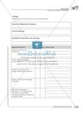 Schreibförderung: Alltag: Herstellung einer Tagescreme: Hinweise zum Ablauf,  Arbeitsblätter Preview 3