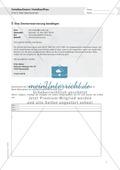Berufe - Hotelkauffrau / mann: Zimmerreservierung bestätigen - Aufgaben + Lösungen Preview 1