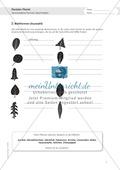 Berufe - Florist / in: Blattformen beschreiben - Aufgabe + Hilfe Preview 1