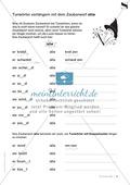 Namenwörter, Tuwörter und Wiewörter verlängern: Übungsblätter Preview 2