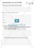 Rund um die E-Mail: Arbeitsaufträge + Lösungen Preview 1