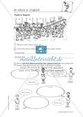 Erste Schritte in Englisch - At school in England: Übungen und Lösung Preview 2
