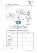 Erste Schritte in Englisch - At school in England: Übungen und Lösung Preview 6