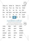Der Lesetrainer - Stufe 2 (kurze Wörter): Arbeitsbätter und Urkunde Preview 1