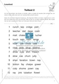 Diphthonge und Konsonanten: Der Lesetest: Arbeitsblätter und Diagnosebogen Preview 4