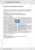 Die Bewegung des Menschen: Lehrerübersicht, Schülermaterial, didaktische Konzeption, Test Preview 11