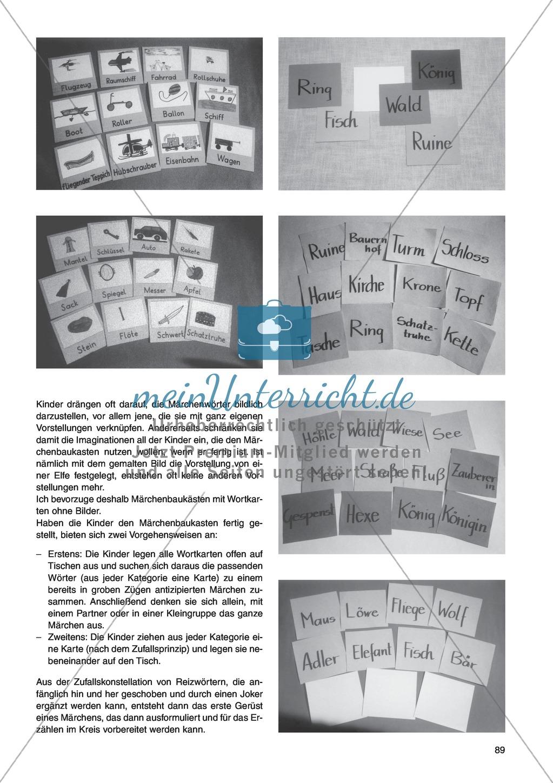 Märchenbaukasten: Unterrichtsidee Preview 1