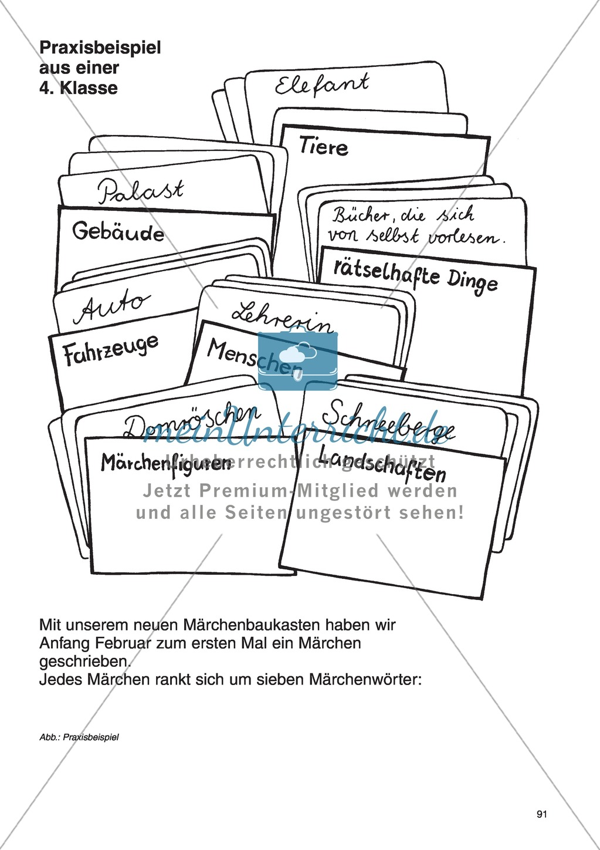 Märchenbaukasten: Unterrichtsidee Preview 3