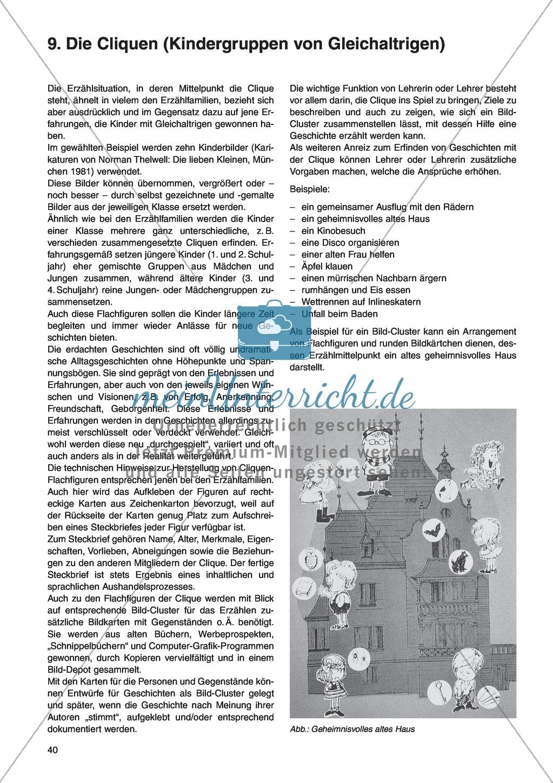 Die Cliquen (Kindergruppen von Gleichaltrigen): Unterrichtsidee Preview 0