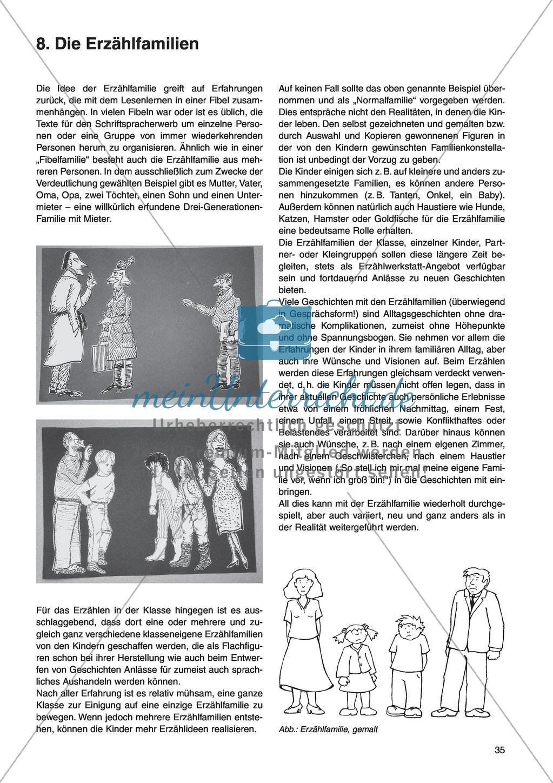 Die Erzählfamilien: Unterrichtsidee Preview 0