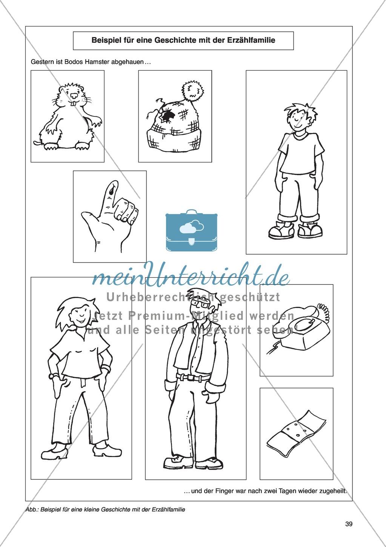 Die Erzählfamilien: Unterrichtsidee Preview 4