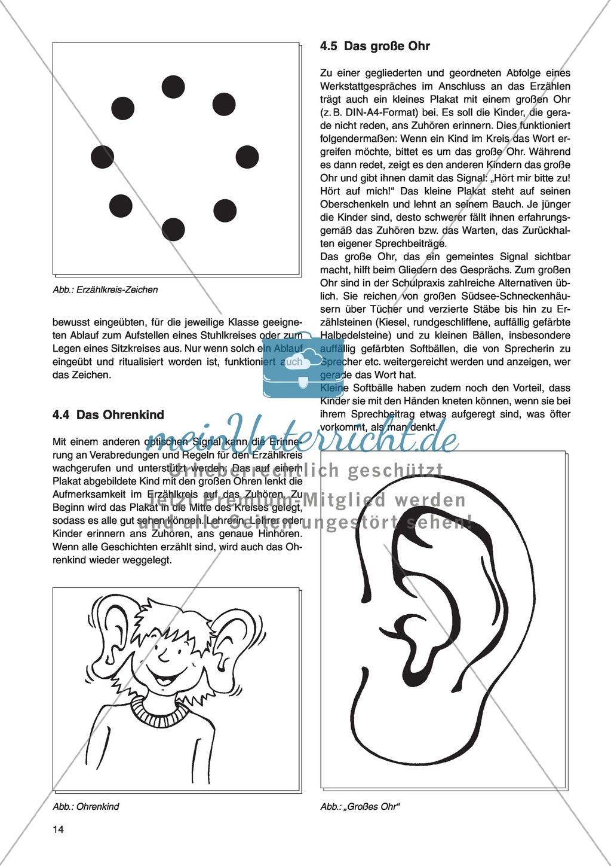Erzähl mal was! Erzählkompetenzen in der Grundschule - kreative Unterrichtsideen: Material komplett Preview 9