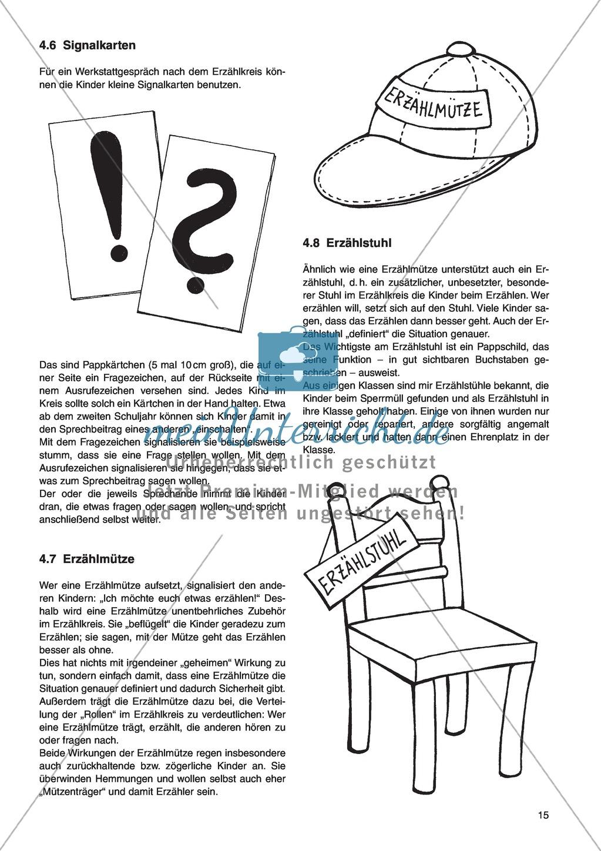 Erzähl mal was! Erzählkompetenzen in der Grundschule - kreative Unterrichtsideen: Material komplett Preview 10