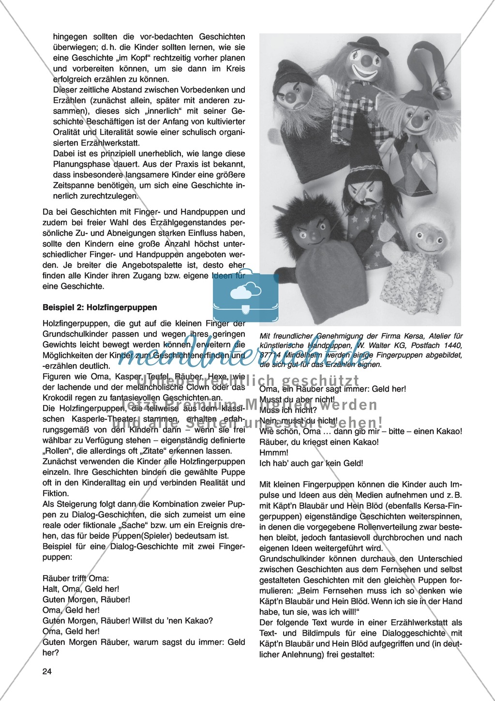 Erzähl mal was! Erzählkompetenzen in der Grundschule - kreative Unterrichtsideen: Material komplett Preview 19