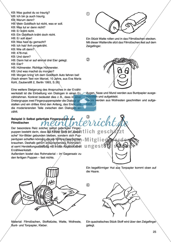 Erzähl mal was! Erzählkompetenzen in der Grundschule - kreative Unterrichtsideen: Material komplett Preview 20