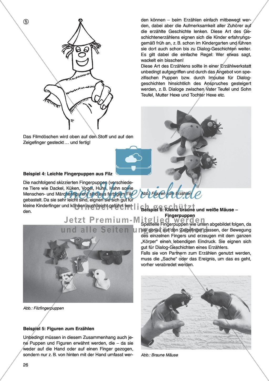 Erzähl mal was! Erzählkompetenzen in der Grundschule - kreative Unterrichtsideen: Material komplett Preview 21