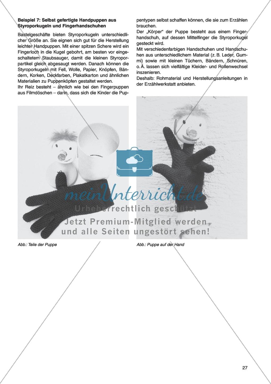Erzähl mal was! Erzählkompetenzen in der Grundschule - kreative Unterrichtsideen: Material komplett Preview 22