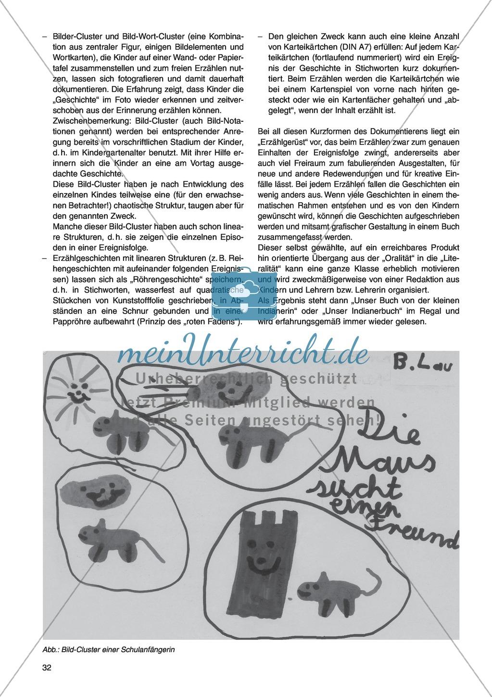 Erzähl mal was! Erzählkompetenzen in der Grundschule - kreative Unterrichtsideen: Material komplett Preview 27